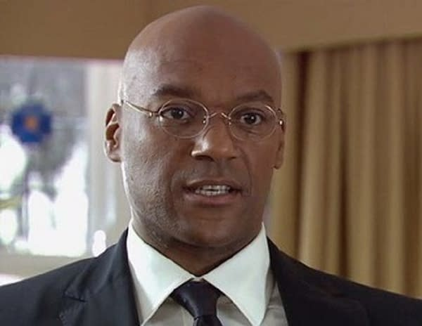 Colin Salmon in Doctor Who, courtesy of BBC Studios.