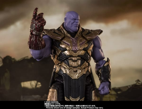 Thanos Prepares For War with New S.H. Figuarts Figure