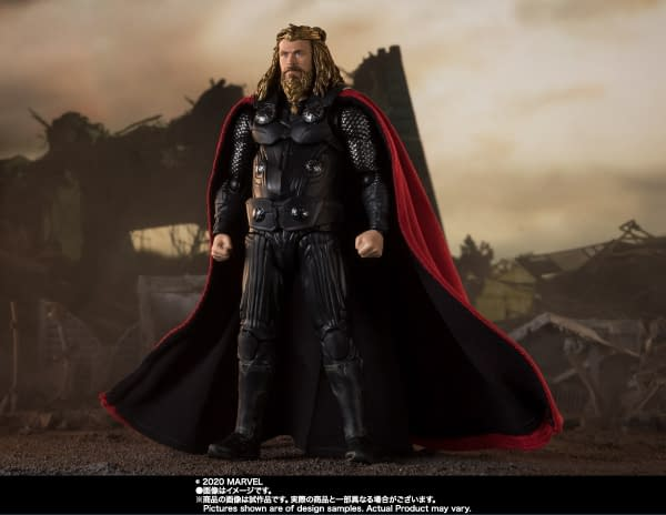 Thor is Ready for Thanos With the New S.H. Figuarts Figure