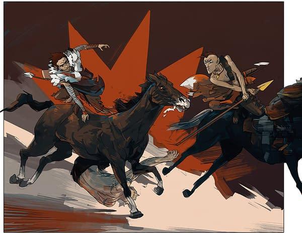 Wahcommo: Magnetic Press Announces Kickstarter for Graphic Novel