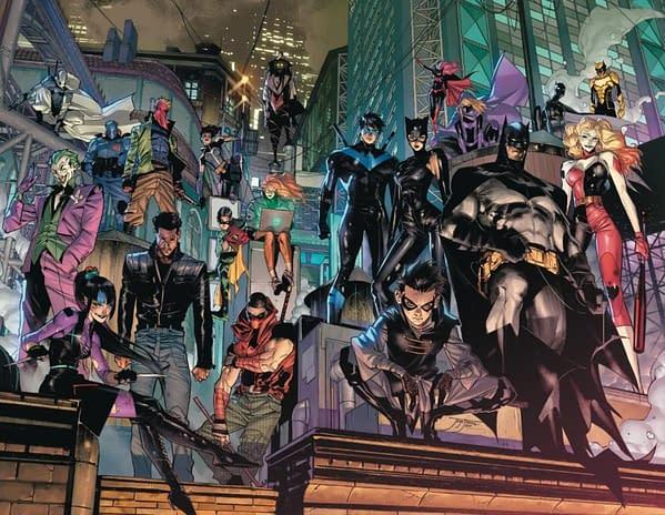DC Comics Tweets Out Infinite Frontier Images