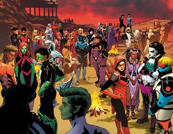 Sneak Peek At The Last Stories Of The DC Universe