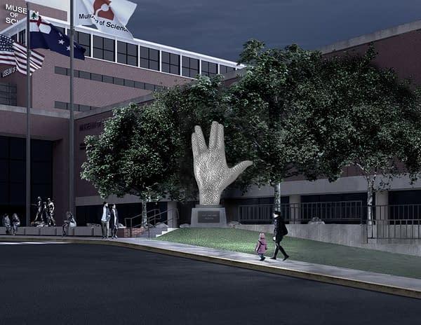 Star Trek: Museum of Science Unveils Planned Leonard Nimoy Memorial