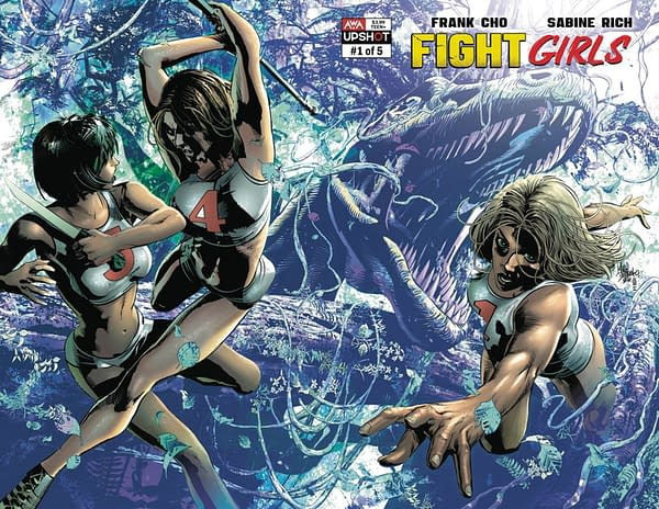 Fight Girls #1 Finally Launches In AWA July 2021 Solicits