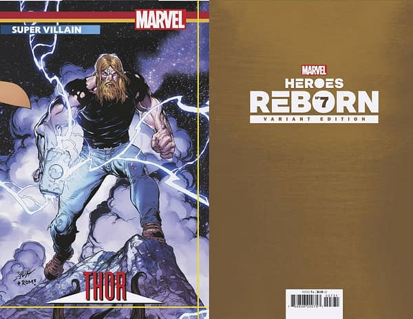 Cover image for HEROES REBORN #7 (OF 7) BAGLEY CONNECTING TRADING CARD VAR