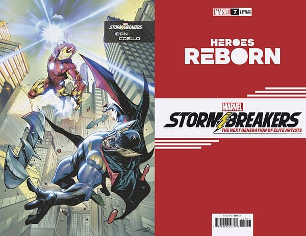 Cover image for HEROES REBORN #7 (OF 7) COELLO STORMBREAKERS VAR