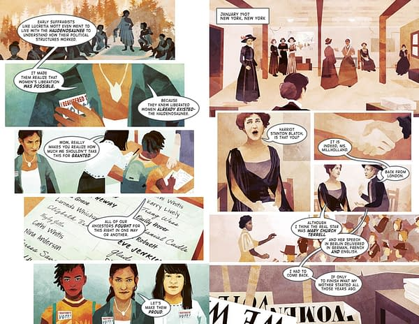 Good Girls Don't Make History, But Make A Graphic Novel