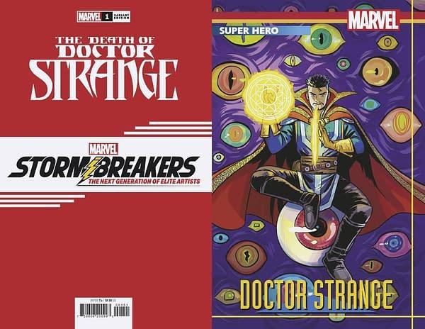 Cover image for DEATH OF DOCTOR STRANGE #1 (OF 5) BUSTOS STORMBREAKERS VAR