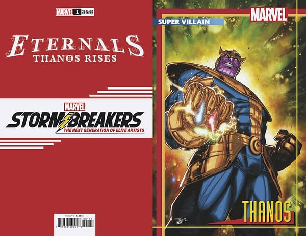 Cover image for ETERNALS THANOS RISES #1 COELLO STORMBREAKERS VAR