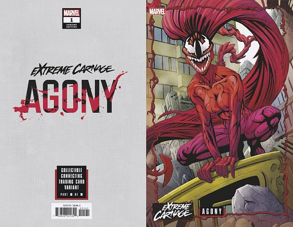 Cover image for EXTREME CARNAGE AGONY #1 JOHNSON CONNECTING VAR