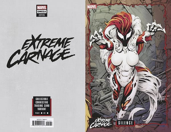 Cover image for EXTREME CARNAGE OMEGA #1 JOHNSON CONNECTING VAR