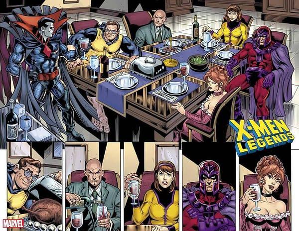 X-Men Legends #10 Preview Pages, Dan Jurgens, Mr. Sinister & More