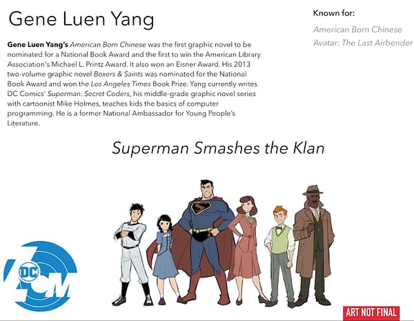 Why 'Superman Smashes the Klan' Graphic Novel by Gene Luen Yang is Set in 1946