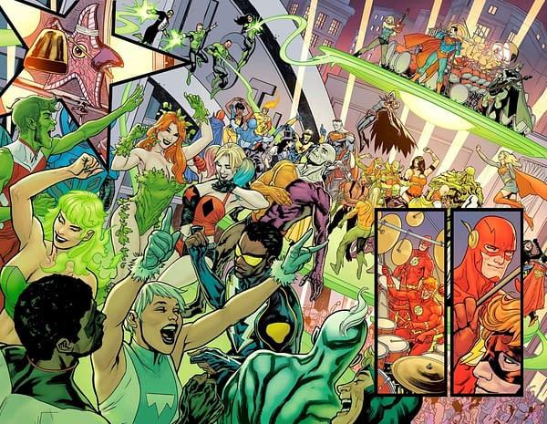 Yanick Paquette On Leaving DC Comics