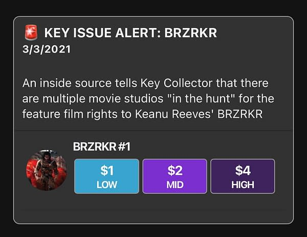 134,000 Copies Of Keanu Reeves BRZRKR #1 Still To Come To Comic Shops