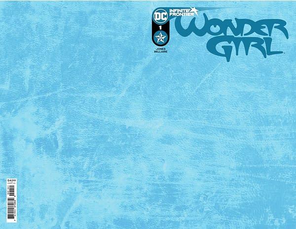 Cover image for WONDER GIRL #1 CVR C BLANK CARD STOCK VAR