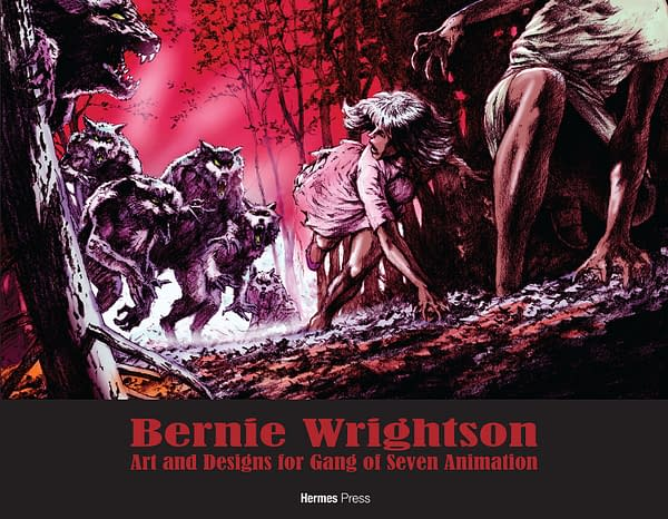Bernie Wrightson And Jim David Garfield Exclusives From Hermes Press For San Diego Comic-Con SDCC2017