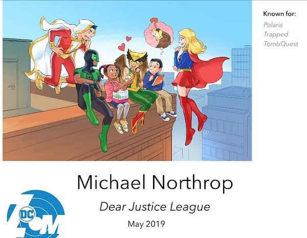 Michael Northrop on How Being a Sports Reporter Led to Writing 'Dear Justice League'