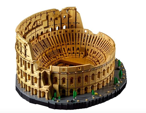 LEGO Debuts Colosseum of Rome Set That Has +9000 Pieces