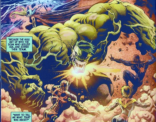 Immortal Hulk #14 Stretches Its 'Connective Tissue' Further…