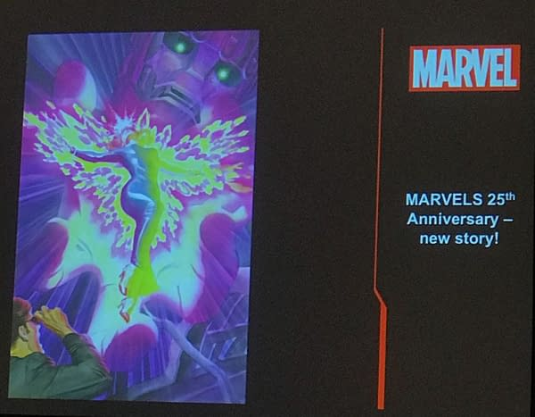 Kurt Busiek and Alex Ross to Create New X-Men Marvels Comic for 25th Anniversary