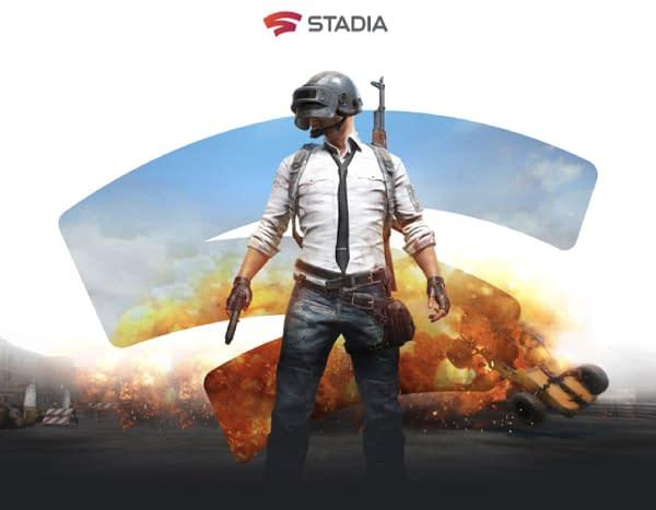 PUBG Stadia Promo