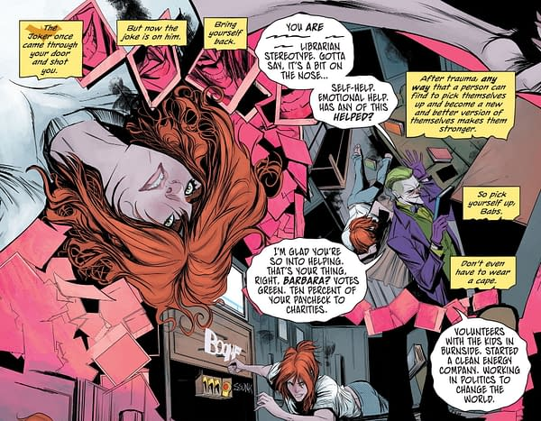 The Killing Joke Is Back In Full DC Continuity (Batgirl #47 Spoilers)