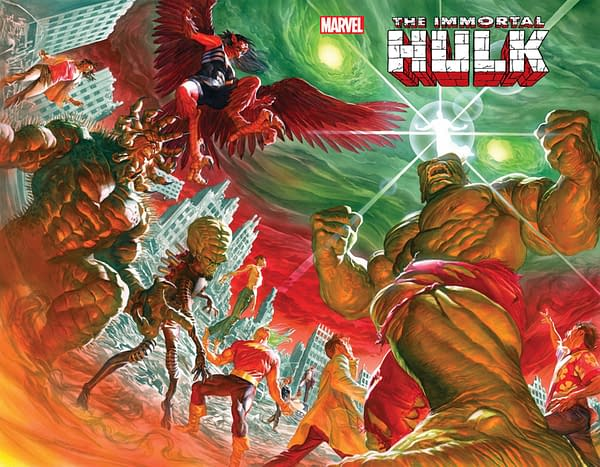 Immortal Hulk by Al Ewing and Joe Bennett To End in October With #50