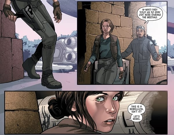 """Jody Houser Puts The """"Rebel"""" Line Back Into Star Wars: Rogue One"""