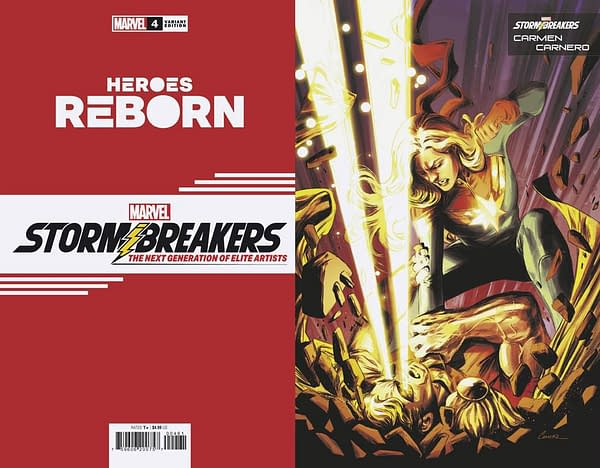 Cover image for HEROES REBORN #4 (OF 7) CARNERO STORMBREAKERS VAR