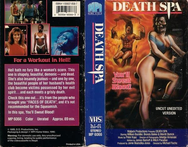 Death Spa VHS