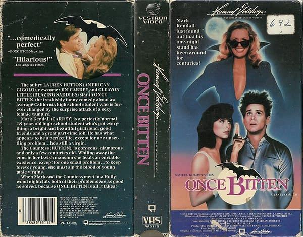 Once Bitten VHS