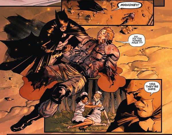 DC Comcis Reveals Identity Of Peacekeeper 01 (Spoilers)