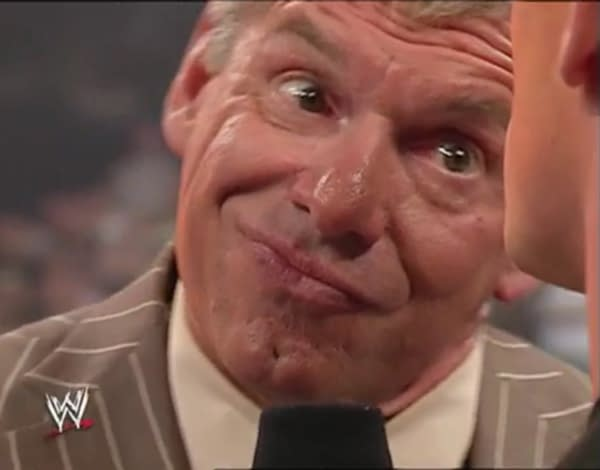Vince McMahon, Chairman and CEO of WWE