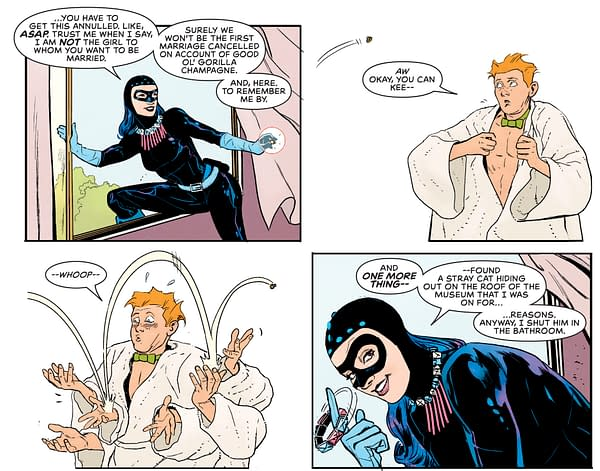 Batman Did Not Marry Catwoman - But Jimmy Olsen Might Have Done