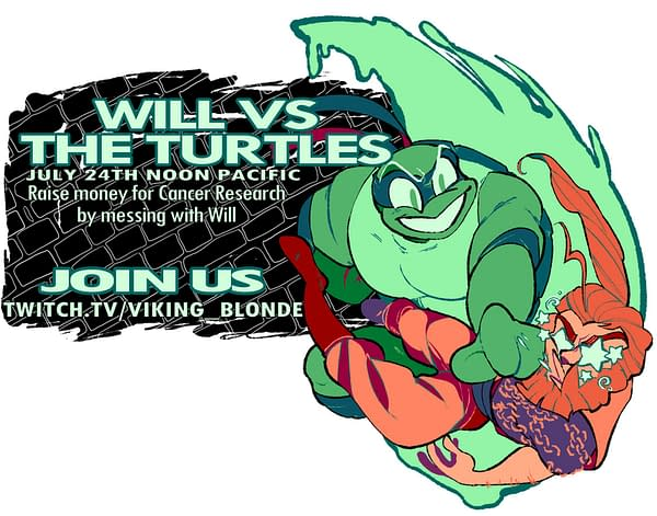 Will Vs The Turtles: A Longship Charity Event Happens Later Today