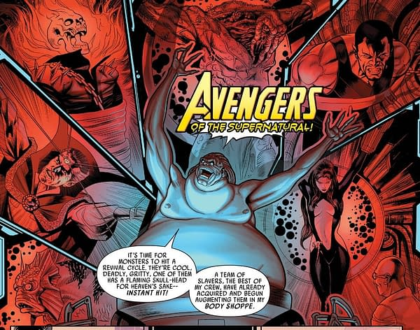 A Brand-New Midnight Sons for Marvel? [Damnation Spoilers]