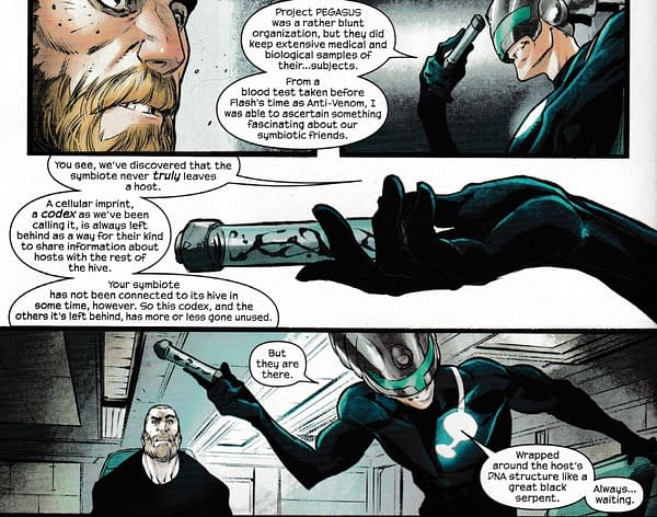 Venom #8 Twist Suggests a Symbiotically-Transmitted Disease That Will Affect Spider-Man, Scorpion and Deadpool?
