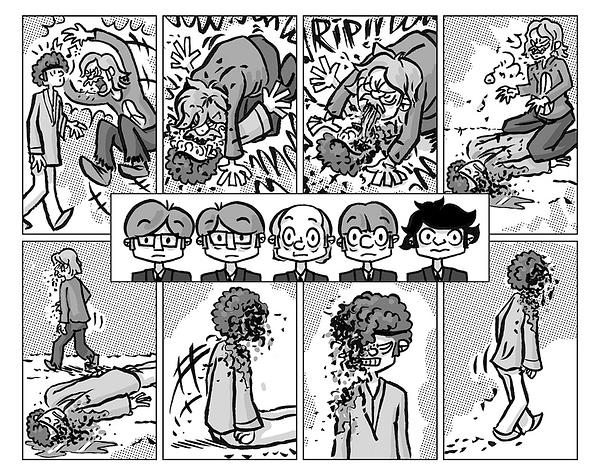You're Not Alone: The Broken Hearts Comics Club
