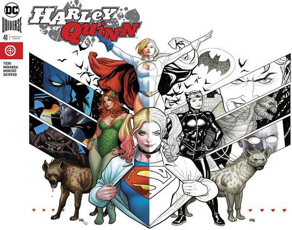 A Handful More Variant Covers For April from DC Comics