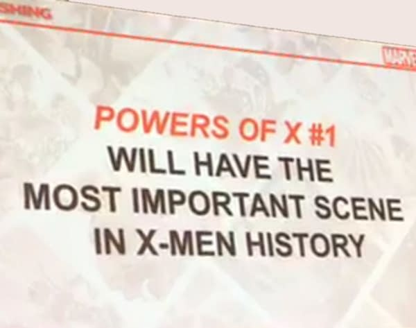 Powers Of X #1 Will Have the Most Important Scene in X-Men History, Apparently (Jonathan Hickman Video)