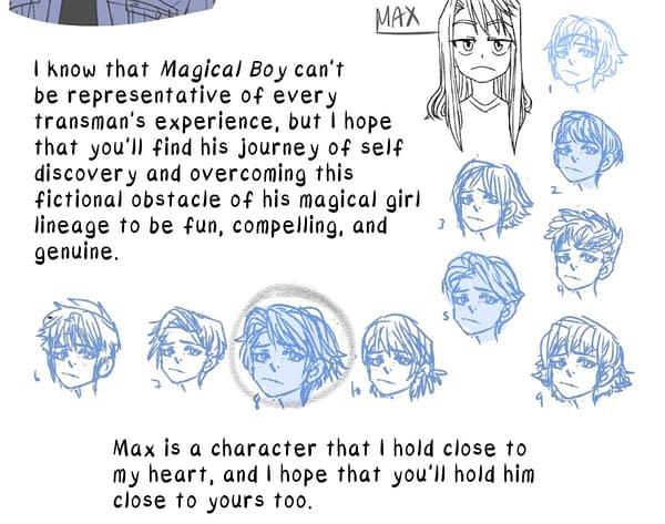 Scholastic To Publish Transgender Tabas Webcomic, Magical Boy