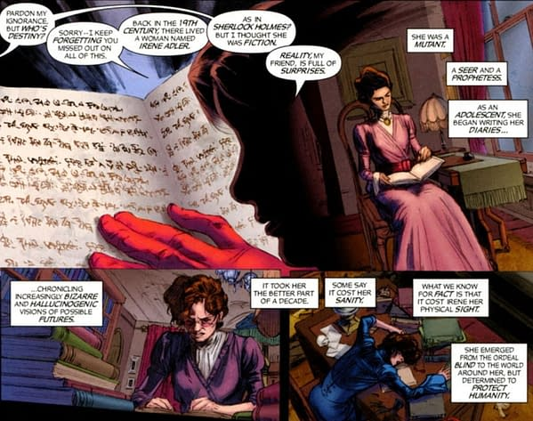 Moira Mactaggert Has Had The Books Of Destiny All Along (Spoilers)