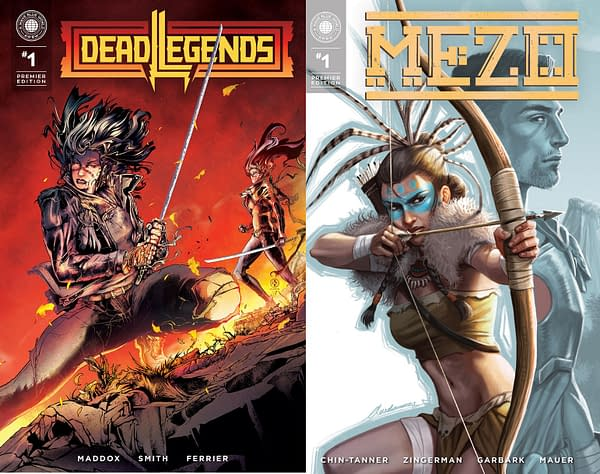 """For Those Mourning Vertigo, A Wave Blue World Has a New Way of Publishing """"Mezo"""" #1 and """"Dead Legends"""" #1 in October"""