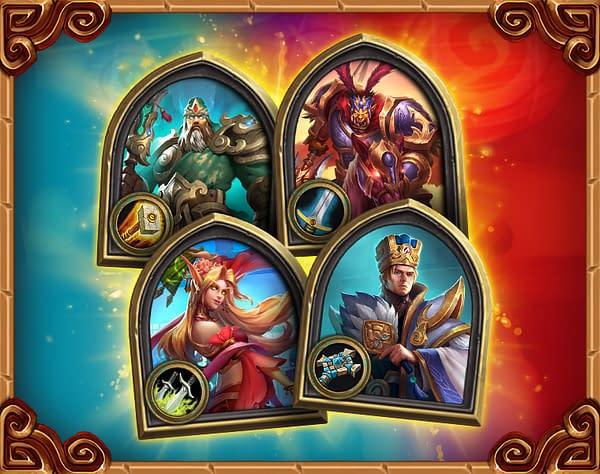 A look at the Three Kingdoms heroes, courtesy of Blizzard.