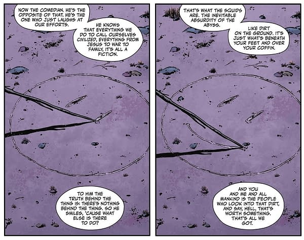 Tom King Explains The Difference Between Rorschach and The Comedian