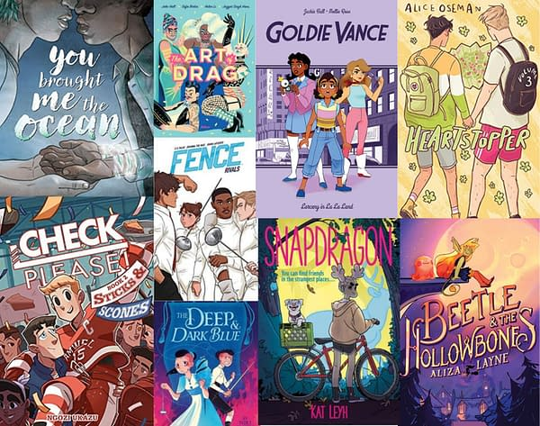 YA Graphic Novel Sales Rose 123% In Bookstores Between 2020 and 2021