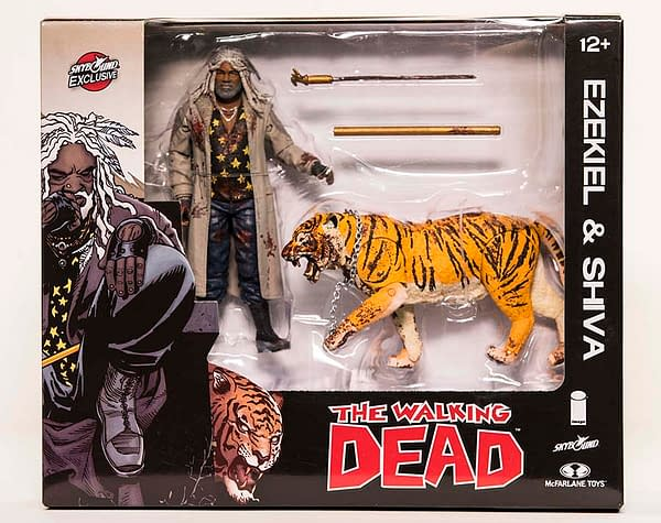 Walking Dead Ezekiel and Shiva Bloody two pack NYCC exclusive