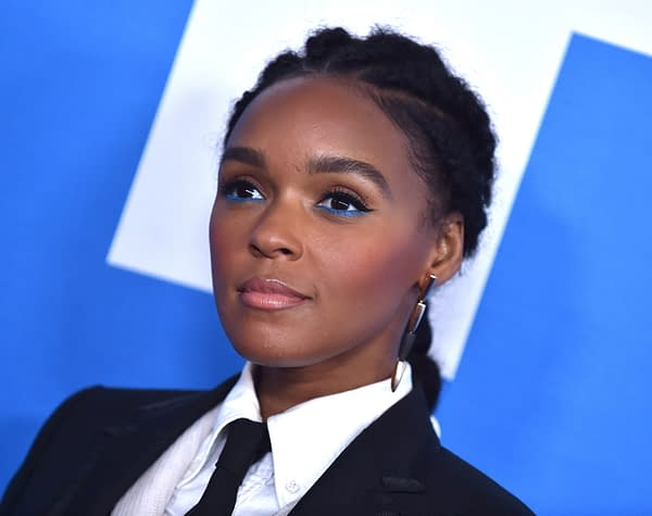 Janelle Monae arrives for the 'Little' Premiere on April 08, 2019 in Westwood, CA. Editorial credit: DFree / Shutterstock.com