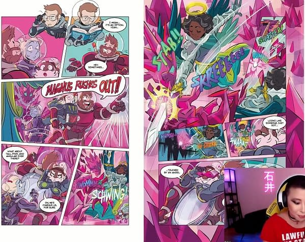 First Look At The Adventure Zone 4th Graphic Novel – Crystal Kingdom